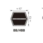 Double Section V-Belts