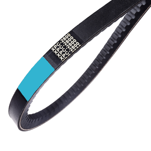Metric Raw Edge Cogged V-Belts